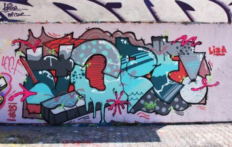 Peyo aka Yope at the PSC legal graffiti wall