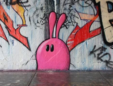 Starkey at the Rouen legal graffiti wall