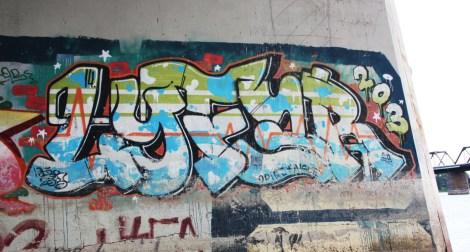 Lyfer piece under some bridge