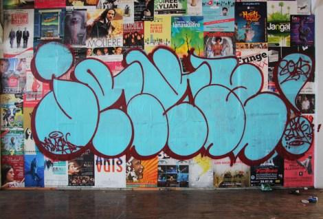 Jaker on the abandoned Transco's 2nd floor