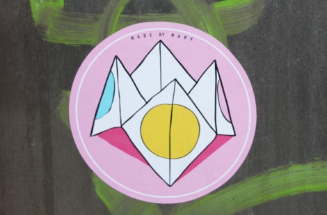 sticker by Mary