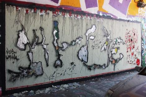 Kelen 'etchitti' at the Rouen legal graffiti tunnel