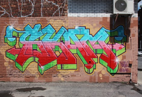 Skam piece in St-Henri