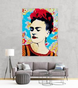 Frida Canvas Wallab su tela