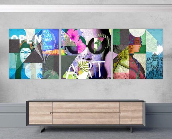Trittico Open Art 2 e Art 3