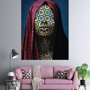 Woman Azulejos Canvas