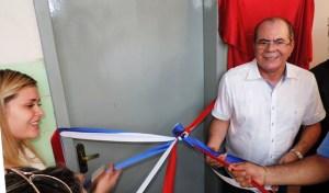 Prefeita Lidiane Rocha com Hildo Rocha