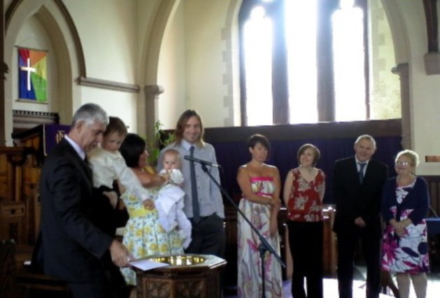 Our most recent baptism 1