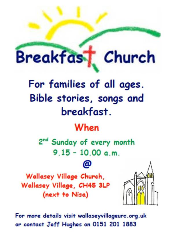 breakfast church poster