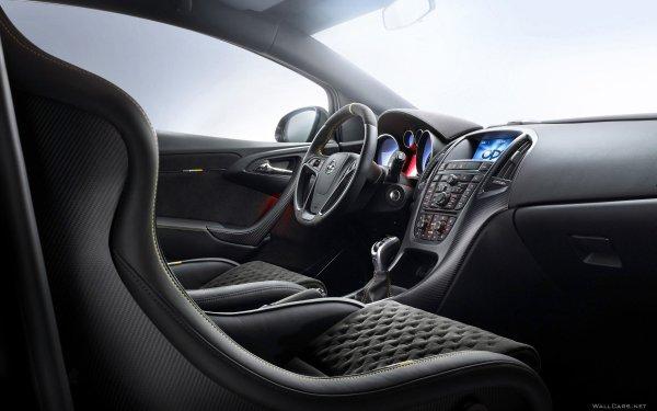 Фото обои Торпеда в Opel Astra OPC Extreme, сиденья, салон ...