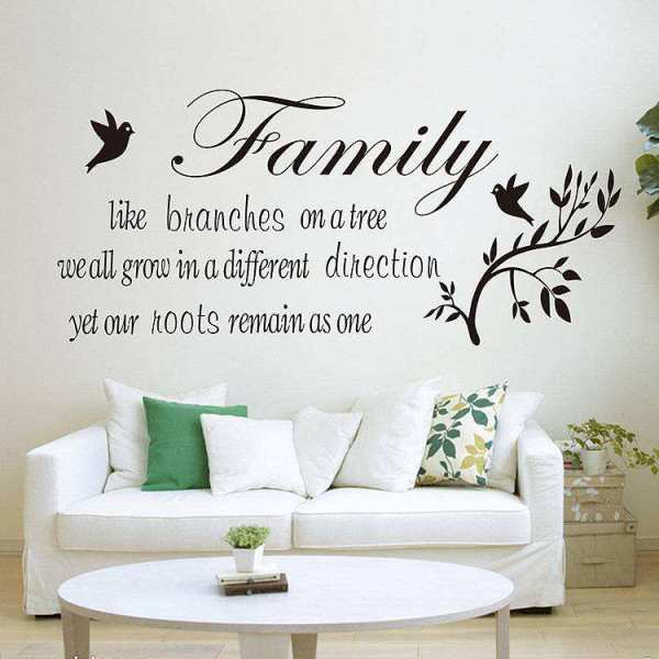 Family like branches on a tree Quotes wall decal sticker ...