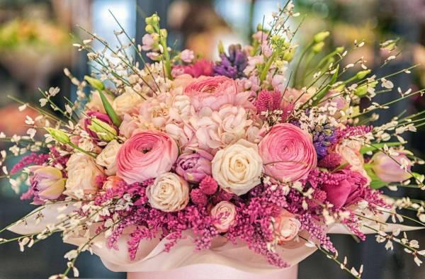 Картина Красивый букет цветов №43595. Галерея: Цветы ...