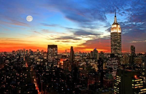 Фотообои Ночной Нью Йорк 1718 купить в Украине | Интернет ...