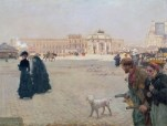 La Place du Carrousel Paris - The Ruins of the Tuileries