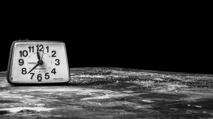 Tiden försvann