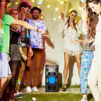 Festa med Sony i sommar