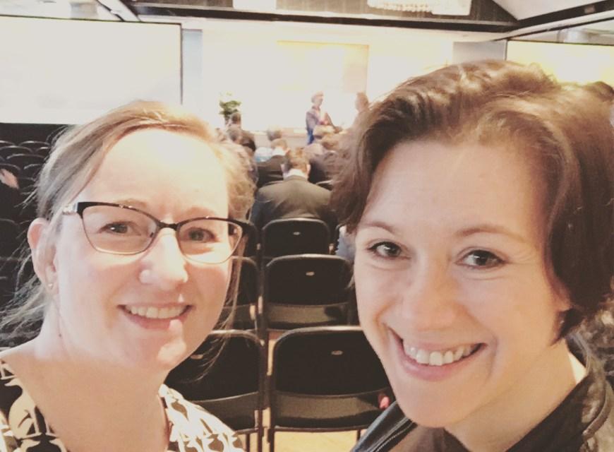 Selfie. Åsa Wallenrud och Magdalena Bibik