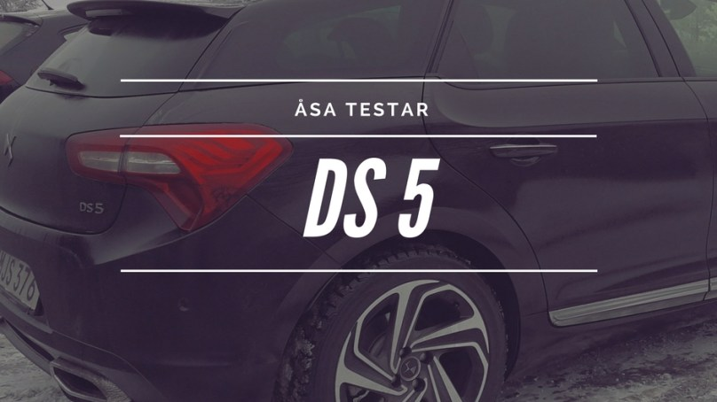 Wallenrud testar – DS5  🚗