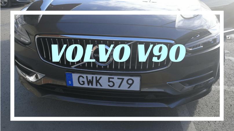 Kolla in Volvo V90