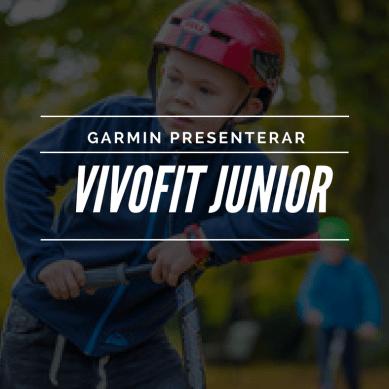 Garmin får barnen att röra på sig mer med Vivofit JR