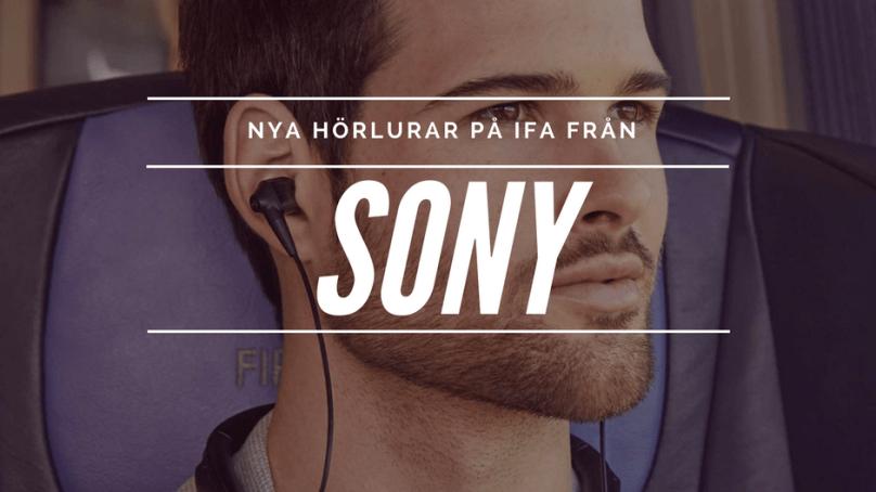 Sony vinner i fulaste hörlurar på IFA