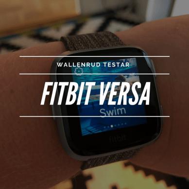 Fitbit Versa – en snyggare träningsklocka