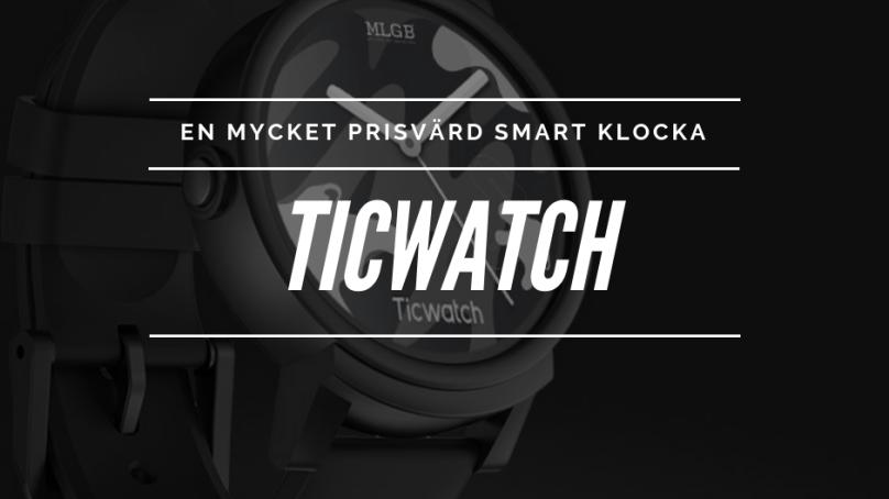 Test av smarta klockan TicWatch E