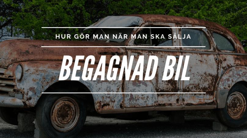 Hur säljer man en begagnad bil?