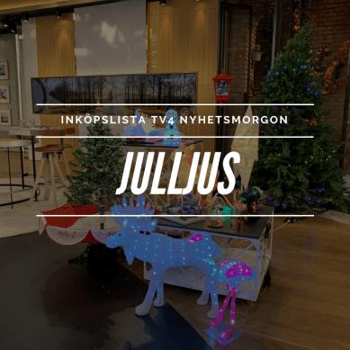 Inköpslista TV4 Nyhetsmorgon – Julljus