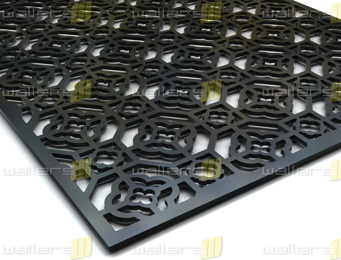 WG 048 Chinese R6 Fretwork MDF Grille Panel