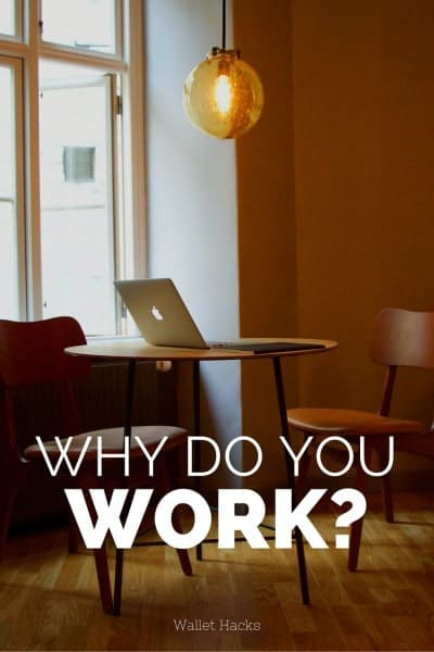 Oftentimes we go to work, put in our 8-10 hours, come home, sleep, get up, go to work... the cycle feels endless. Tim Ferriss called it the 'deferred life plan,' where we work work work and then 'retire.' But have you asked yourself why you work? Why do you do what you do? It might surprise you.