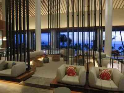 """Using the """"double up"""" strategy for lodging can really pay off. We combined two 2-free night awards from signing up for the Chase Hyatt Visa into a single four-night reservation at the Andaz Maui, shown here, saving us over $1,400!"""