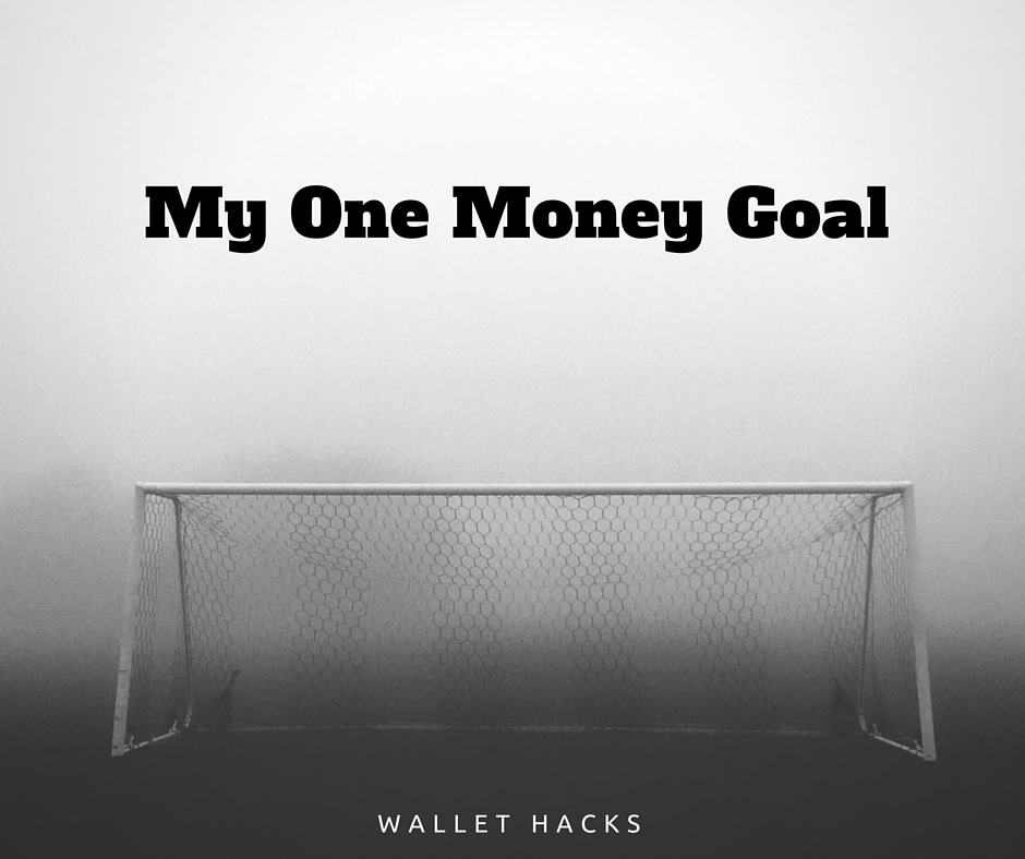 My One Money Goal