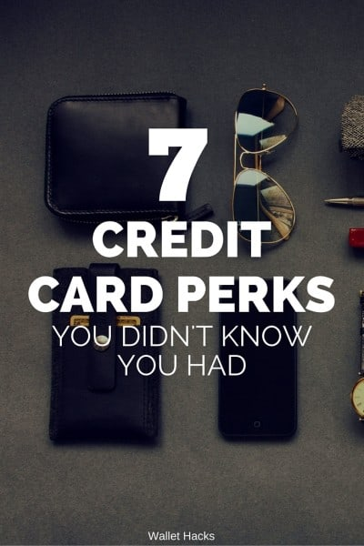Credit cards are constantly competing for business and many offer similar, extremely valuable perks like extended warranty, purchase protection, and a whole litany of travel protections (lost luggage, foreign transaction fee, etc). Check out this full list and take advantage of these perks you're already paying for!