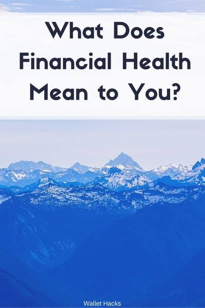 Financial Health Matters - what does Fin Health Mean to Me? It means having control over your life.