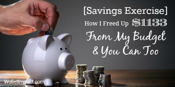 Savings Exercise