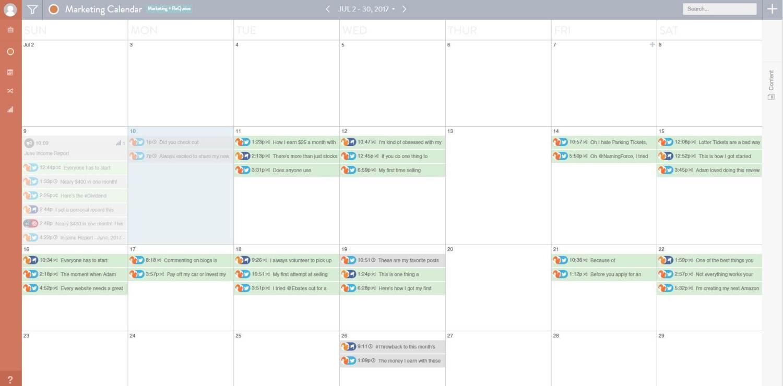 CoSchedule Review Social Media Calendar