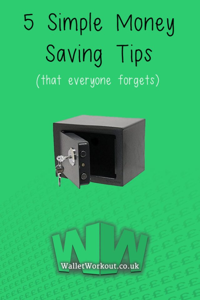 5 Simple Money Saving Tips That Everyone Forgets