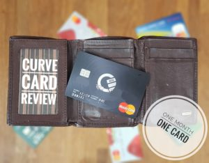 Curve Card Review - One Month with One Card