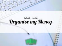 What I do to Organise my Money