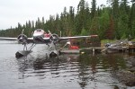 Kay Air fly in float plane Birch Lake.