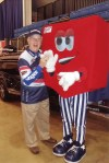 Gary and US Bank mascot
