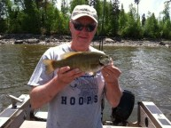 Lac Seul smallmouth