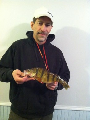 Tracy's 13 inch perch from Day 3