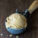 Salted Caramel Ice Cream (Vegan + Paleo)