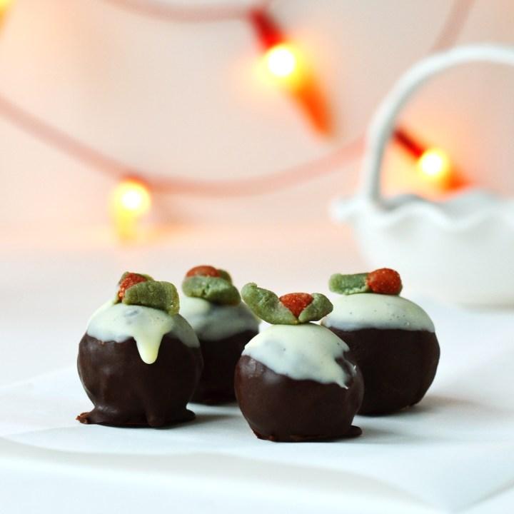 Christmas Pudding Bites