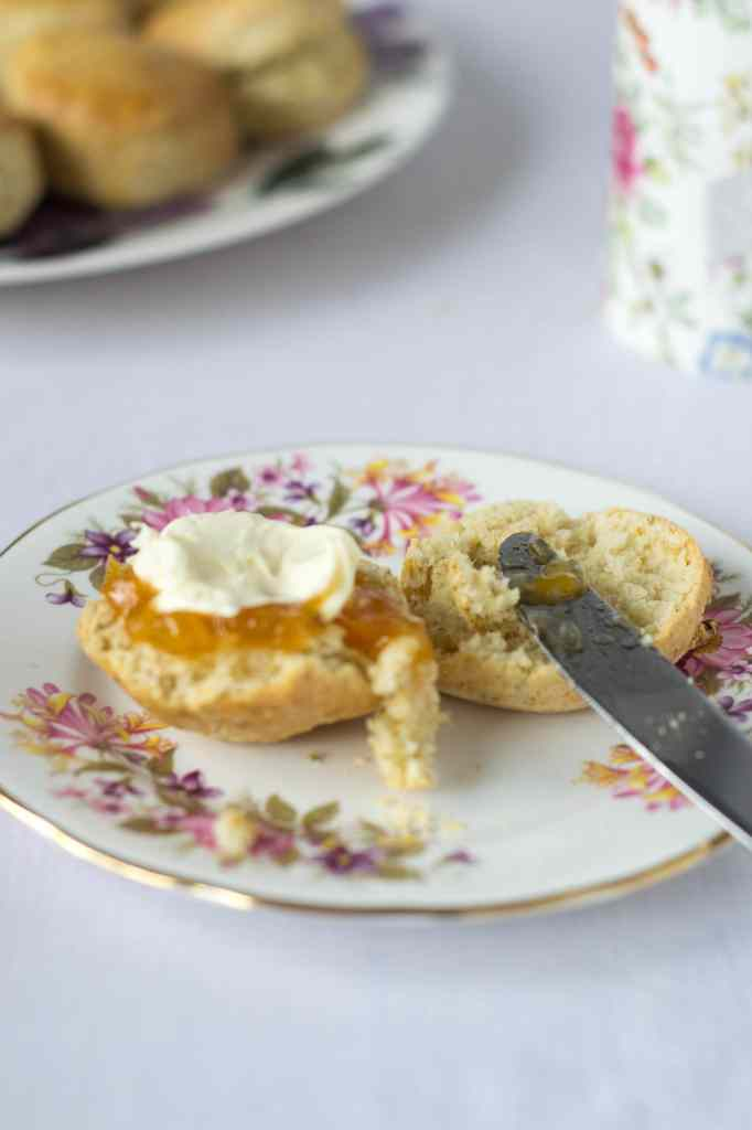 Chamomile & Honey Scones
