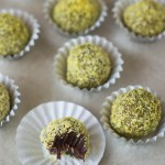 Raw Coconut & Turmeric Chocolate Truffles