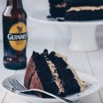 Guinness Chocolate Cake with Irish Cream Frosting