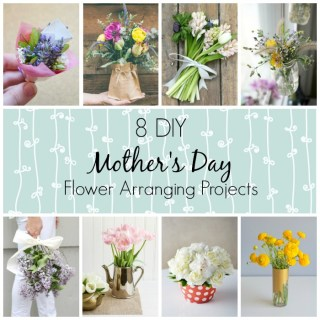 8 DIY Mother's Day Flower Arrangements | WallflowerGirl.co.uk #DIY #MothersDay